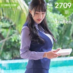 XiuRen 秀人 No.2709 朱可人 职场制服