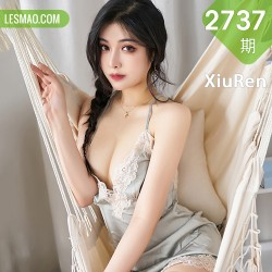 XiuRen 秀人 No.2737  蕾丝吊裙睡裙丝袜 韩静安