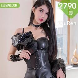 XiuRen 秀人 No.2790  葛征 修长美腿黑丝皮质女王