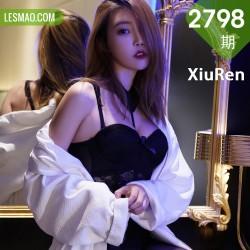 XiuRen 秀人 No.2798  冯木木 黑丝情趣内衣