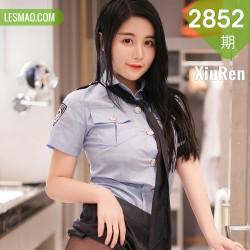 XiuRen 秀人 No.2852  情趣女警制服捆绑 美七 童颜巨乳