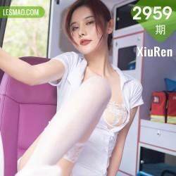 XiuRen 秀人 No.2959  救护车主题系列护士 就是阿朱啊