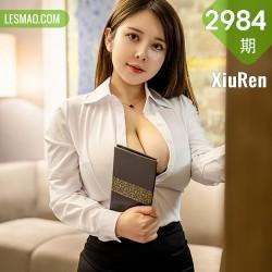 XiuRen 秀人 No.2984  奶油妹妹 丰满爆乳新人模特