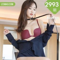 XiuRen 秀人 No.2993  黑色吊裙和吊袜 唐安琪