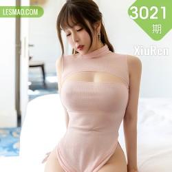 XiuRen 秀人 No.3021  粉色镂空吊裙 王雨纯