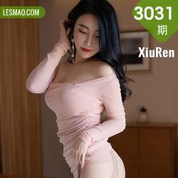 XiuRen 秀人 No.3031 朦胧丝袜  绯月樱 粉色吊裙
