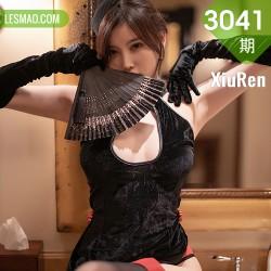 XiuRen 秀人 No.3041  黑丝贵妇 杨晨晨 古典韵味