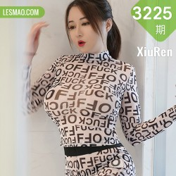 XiuRen 秀人 No.3225 白色透视装 凯竹•廿十