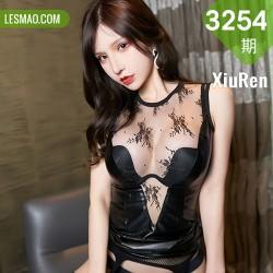 XiuRen 秀人 No.3254   魅惑黑色皮裙 周于希Sandy 极致网袜