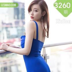 XiuRen 秀人 No.3260  蓝色吊裙 杨晨晨sugar 私房写真