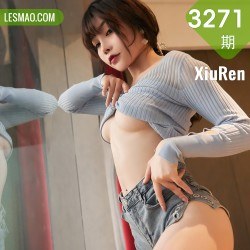 XiuRen 秀人 No.3271  超短牛仔裤写真 芝芝Booty