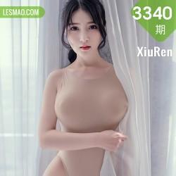 XiuRen 秀人 No.3340  肉色写真纤细腰肢 林煊煊天使清秀面容...