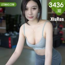 XiuRen 秀人 No.3436  健身房运动内衣 Victoria志玲 最新性感写真