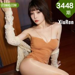 XiuRen 秀人 No.3448  魅惑吊裙 芝芝Booty 性感写真