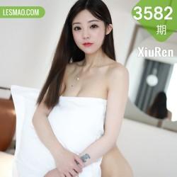 XiuRen 秀人 No.3582 白衬衫黑短裙肉丝袜 佘贝拉bella 西双版纳旅拍写真
