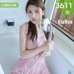 XiuRen 秀人 No.3611 粉色女仆浴室主题 夏西CiCi 西双版纳旅拍3