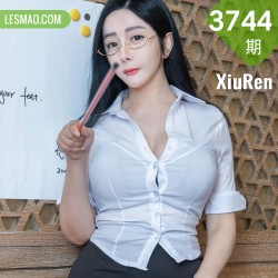 XiuRen 秀人 No.3744 英语老师眼镜OL 允爾 桂林旅拍写真22