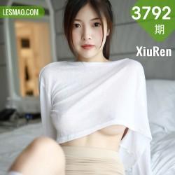 XiuRen 秀人 No.3792 白T系列 明日花桃桃 澳门旅拍写真3
