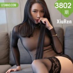 XiuRen 秀人 No.3802 轻薄黑丝 梦心月 江浙沪旅拍1