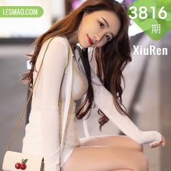 XiuRen 秀人 No.3816 夜景街拍 Cherry绯月樱 江浙沪旅拍3