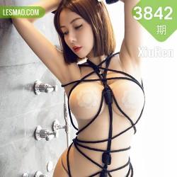 XiuRen 秀人 No.3842 连体丝袜与捆绑系列 果儿Victoria 三亚旅拍11