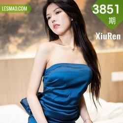 XiuRen 秀人 No.3851 御姐礼裙 媛媛酱belle 新人模特2
