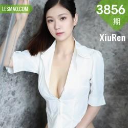 XiuRen 秀人 No.3856 衬衫浴室 李雅柔182CM 性感写真3