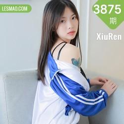 XiuRen 秀人 No.3875 蓝色校服下 明日花桃桃 性感写真3