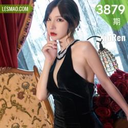 XiuRen 秀人 No.3879 黑丝吊裙 周于希Sandy 大理旅拍111