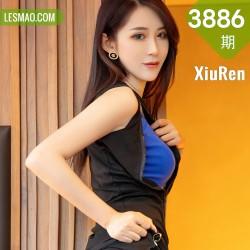 XiuRen 秀人 No.3886 蓝色网袜 周慕汐baby 性感写真