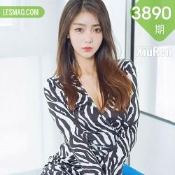 XiuRen 秀人 No.3890 斑纹短裙 可樂Vicky 性感写真2