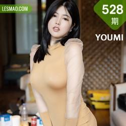 YOUMI 尤蜜荟 Vol.528 典雅礼裙 娜露 绝佳身材