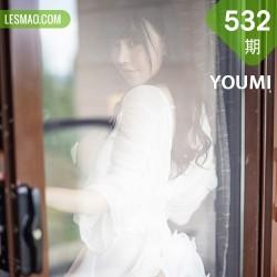 YOUMI 尤蜜荟 Vol.532 爆乳乳贴 甜甜可儿 童颜巨乳