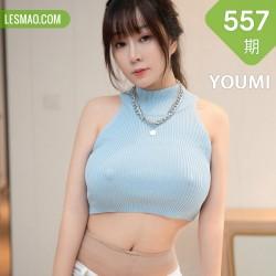 YOUMI 尤蜜荟 Vol.557 超短牛仔裤 王雨纯