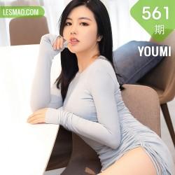 YOUMI 尤蜜荟 Vol.561 巨乳肥臀 娜露