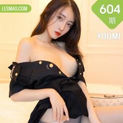 YOUMI 尤蜜荟 Vol.604  黑丝魅力警花制服 玥儿玥er
