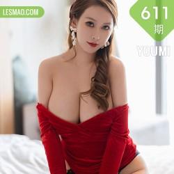 YOUMI 尤蜜荟 Vol.611 鲜红短裙 尤妮丝Egg  厦门旅拍
