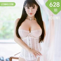 YOUMI 尤蜜荟 Vol.628  镂空蕾丝 朱可儿Flower典雅公主三亚旅拍