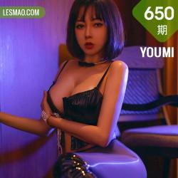 YOUMI 尤蜜荟 Vol.650  视觉色彩妩媚 果儿Victoria 西双版纳旅拍