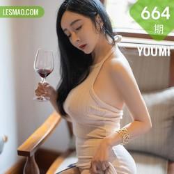 YOUMI 尤蜜荟 Vol.664  娇媚动人 允爾 西双版纳旅拍