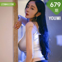 YOUMI 尤蜜荟 Vol.679  抹油浴室皮裙 允爾 桂林旅拍11 1